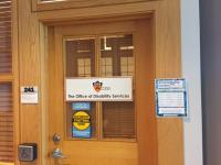 office of disability services front door